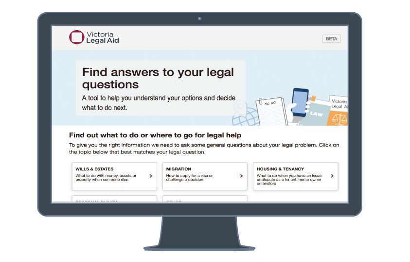 Legal Aid Checker