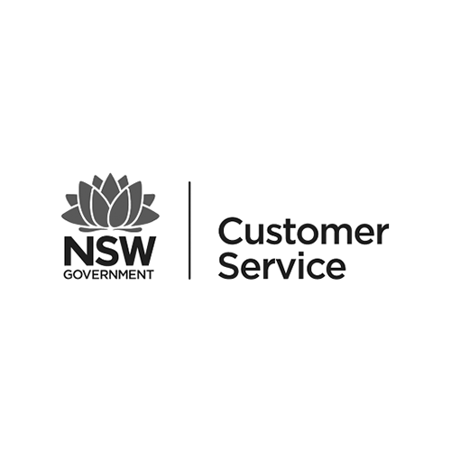 NSW Customer Service Logo